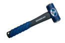 Seymour 41830 2 lb Engineer Hammer - Spiral Anti-Slip Grip & Overstrike Protection - Fiberglass 16