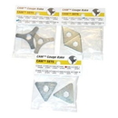 Midwest Rake 57180 CAM 3 Pack - 1 Set Each, Size 1 (57081), 2 (57082), and 4 (57084)