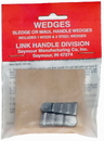Link Handles 64128 Hammer Handle Wedges, 1 Wood Wedge And 2 Steel Wedges Per Pack