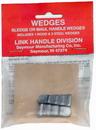 Link Handles 64136 Axe Handle Wedges, 1 Wood Wedge And 2 Steel Wedges Per Pack