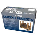 Fire Blox 98039 Stack-It Bracket Set, 4 Steel Brackets per Set