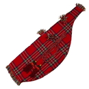 Roosebeck BGRT Roosebeck Full Size Bagpipe Cover and Cord - Red Tartan
