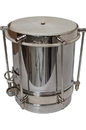 DOBANI CUIC5 DOBANI Steel Plated Brass Cuica w/ Goatskin Head 7-by-5-Inch