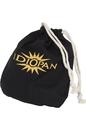 Idiopan DP06DBB Idiopan 6-Inch Drawstring Bag - Black