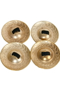 Mid-East FCD47 Mid-East Brass Decorated Finger Cymbals 1.9