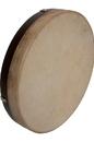 DOBANI FD12 DOBANI Pretuned Goatskin Head Wood Frame Drum w/ Beater 12