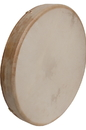 DOBANI FD16T DOBANI Tunable Goatskin Head Wooden Frame Drum w/ Beater 16