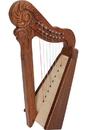 Mid-East Parisian Harp, 8 String