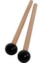 Idiopan MLTRSBC Idiopan 7-Inch Mallets with .7-Inch Ball - Pair - Black