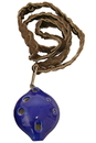 DOBANI ONSD DOBANI Soprano Ocarina w/ Braided Necklace D5 - Blue
