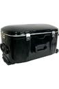 Banjira TBHCW banjira Wheeled Fiberglass Case for Tabla Set - Black