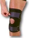 Mutual Industries 1075520 Adjustable Neoprene Knee Stabilizer W/Straps