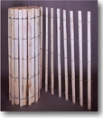 Mutual Industries 14910-9-48 4' X50' Natural Wood Snow/Sand Fence