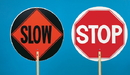 Mutual Industries Stop/Slow Paddle