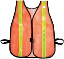 Mutual Industries 16301-138-1375 Heavy Weight Safety Vest - 1-3/8&Quot; Lime Reflective