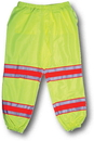 Mutual Industries 16328-4553 Ansi Class E Lime Pant W/Silver And Orange Reflective