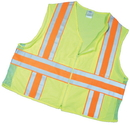 Mutual Industries Ansi Class 2 Deluxe Dot Mesh With Pockets
