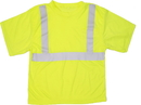 Mutual Industries Ansi Class 2 Lime Mesh Tee Shirt