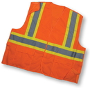 Mutual Industries Ansi Class 2 Mesh Tearaway With Pockets