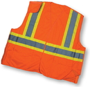 Mutual Industries Ansi Class 2 Solid Tearaway With Pockets
