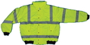 Mutual Industries Ansi Class 3 Lime Bomber Jacket