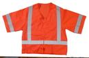 Mutual Industries Ansi Class 3 Mesh Orange