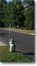 Mutual Industries 17707 Fire Hydrant Marker (Snow)