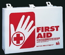 Mutual Industries 50006 25 Person Metal First Aid Kit