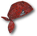 Mutual Industries 50300-48 Cotton Wrap - Red Paisley