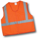 Mutual Industries Ansi Class 2 Solid Durable Flame Retardant Vest