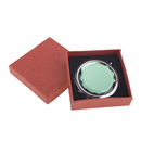 ALICE Green Crystal Makeup Mirror, Purse Mirror