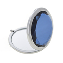 ALICE Blue Crystal Purse Mirror, Folding Mirror