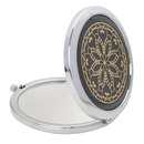GOGO Round Mini Pocket Mirror 2X 1X Magnification, Colorful