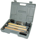 Aes Industries Hammer3 & Dolly4 Wood Hndls 7Pc Set