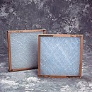 Air Filtration EA1 20X20X2 Frame Glass Disp