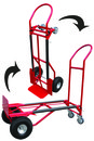 American Power 3469-1 2-In-1 Hand Cart Unassembled