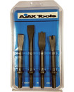 Ajax Tools A9015 Chisel 4Pc Set-.401 Shank