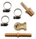 Acme Automotive A858D-BL 1/4 Barb 1/4 Thread Hose Repair