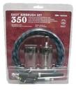Badger Air-Brush 350CS Easy Airbrush 350 Clamshell Set