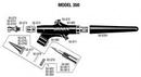 Badger 350 Needle-Medium