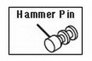 Chicago Pneumatic Hammer Pin F/Cp734