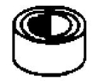 Dynabrade DB11281 Contact Wheel