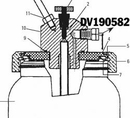 DeVilbiss 190582 Tia4355 Safety Valve Assy