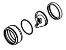DeVilbiss 802841 Air Cap Retaining Ring Assy