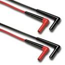 Fluke 2003616 Silicone Rt Angle Test Lead Set Tl222