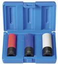 Grey Pneumatic 1503TP 1/2Dr 3Pc Etw Whl/Nut Protect Set