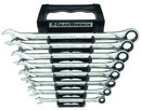 Apex Tool Group GWR85198 Wrench Set Combo Ratch 12 Pt Sae Xl 8 Pc