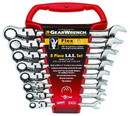 GearWrench Wrench Set Comb Ratch Flex Sae 12 Pt 8