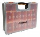 HOMAK HA01112425 Plastic Organizer W/ 12 Removable Bins