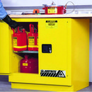 Justrite 892300 Safety Cabinet, 17 Gal. E X Undercounter